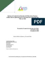 Chile 2015 Informe Alternativo ROIJ