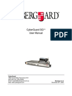 CyberGuard SG User Manual 3.1.2 20051220 (1)
