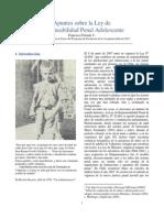 ESTRADA 2015 Apuntes de Clases Sobre Responsabilidad Penal Adolescente