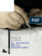 123896933 El Silencio de La Escritura Emilio Lledo