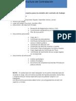 Estructura de Contratación