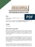 ECHR case Mandil v. France