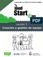 Tema 3 - Creación y Gestión Del Equipo