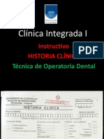 Clínica Integrada HC Instructivo