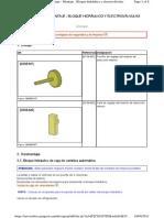 Desmontaje-montaje Cuerpo de Valvulas AL4