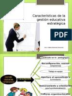 Caracteristicas de La Gestión Educativa - edwin mamani huacani