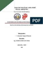 Manual Sistema Integrado de Gestión Fundición ILO