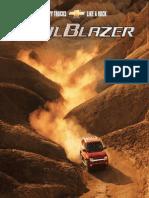 Chevrolet Trailblazer 2002 Misc Documents-Brochure