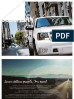 Chevrolet Suburban 2013 Misc Documents-Brochure