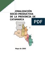 2- Regionalización Socio Productiva