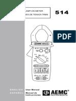 AEMC 514 Manual
