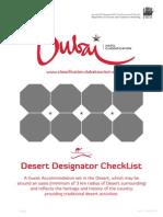Designators Desert Criteria