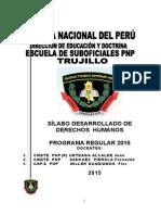 Silabo Desarrollado DD.hh. 2015 .