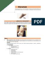 inmunizaciones VACUNAS