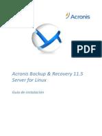 ABR11.5SL Installguide Es-ES
