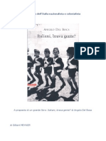 L'Italia nazionalista e Colonialista, 01 di 02.