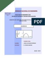 Examen de Dinámica Estructural