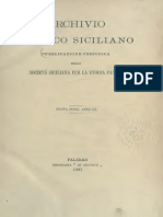 Pellegrini Astorre. Nota Sopra Un'Iscrizione Egizia Del Museo Di Palermo. Archivio Storico Siciliano (1876)