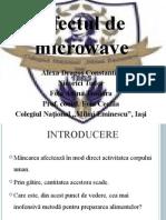 Efectul de Microwave