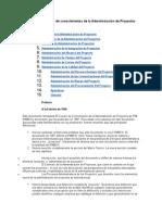Una Guía Al Cuerpo de Conocimientos de La Administración de Proyectos