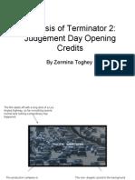 Analysis of Terminator 2