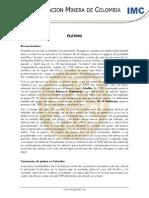 Produccion Del Platino en Colombia