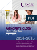Exam Content Guide Pathophysiology