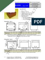 Transformatory Germetizirovannye EI48x20.5-12VA Importer BelTerraTrans (Proizvoditel' Thai Lin Radio)