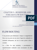 Cap 9-Reservoir and stream flow routing.pptx.pptx