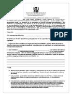 Consentimiento Informado Para La Atencion Medica y Qx