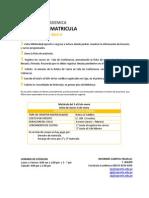 Proceso Matricula