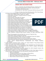Current Affairs Pocket PDF – February 2015 by AffairsCloud