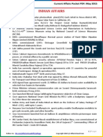 Current Affairs Pocket PDF - May 2015 by AffairsCloud