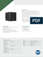 RCF_En_S8015II Spec Sheet