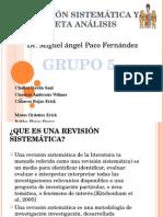 Revision Sistemica y Meta- Analisis
