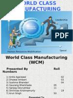 World Class Manufacturing Final