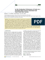Comparative Study on the Combustion Performance of Coals on a Pilot-Scale Test Rig Simulating Blast Furnace Pulverized Coal Injection and a Lab-Scale Drop-Tube Furnace