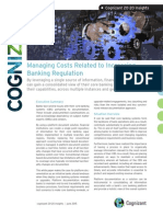 Managing Costs Related to Increasing Banking Regulation