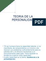 Teoria de La Personalidad,3- Power Point
