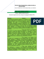 Disexo Del Metodo de Explotacion Para La Mina de Arcilla Asoguayabal