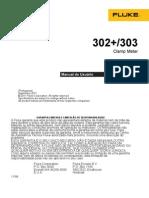 Manual Alicate Amperímetro 302_303 Fluke
