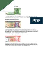 Personajes de Las Monedas de Guatemala