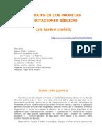 Alonso, Schökel, José Luis, Mensaje de Los Profetas