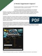 Jurassic World Sport Metodi, Suggerimenti E Approcci
