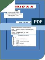 Informe N_ 7 - Curado y Rotura de Briquetas - Tecnología de Concreto