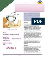 Reporte de Receta- Grupo 3