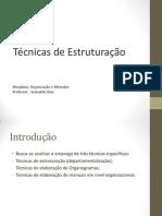 Departamentalização e Manualização 2