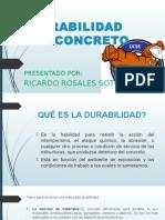 ROSALES SOTO RICARDO - DURABILIDAD DEL CONCRETO.pptx