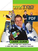 Paytoo User Guide