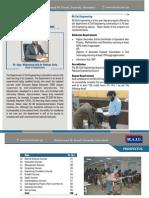 Department of Civil Engineering - Prospectus